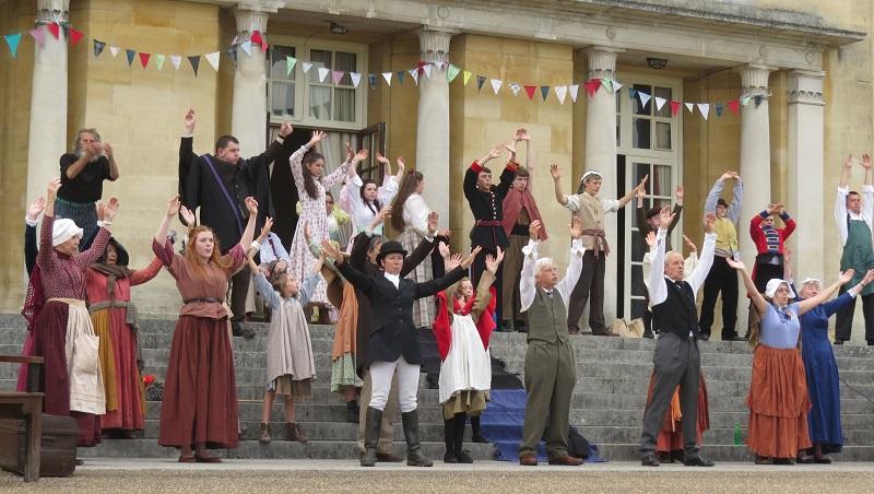 Gatton Community Theatre warm-up