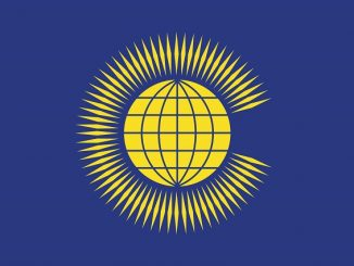 Picture of Commonwealth flag