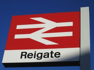 Picture of Reigate Station sign
