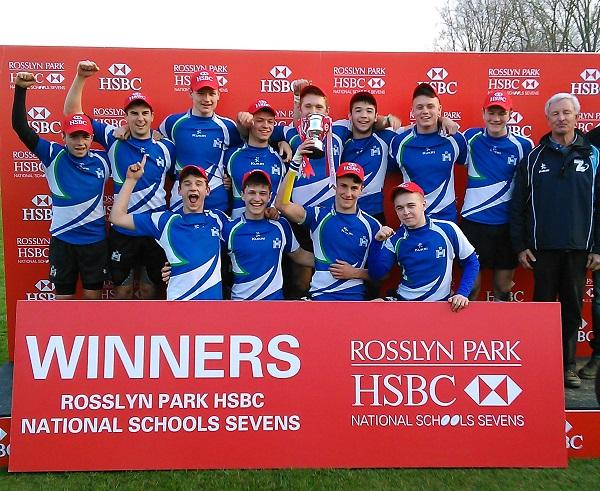 Reigate Grammar School Rugby 7s Champions