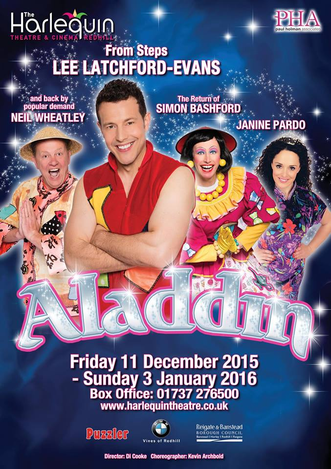 Aladdin This Year S Harlequin Panto