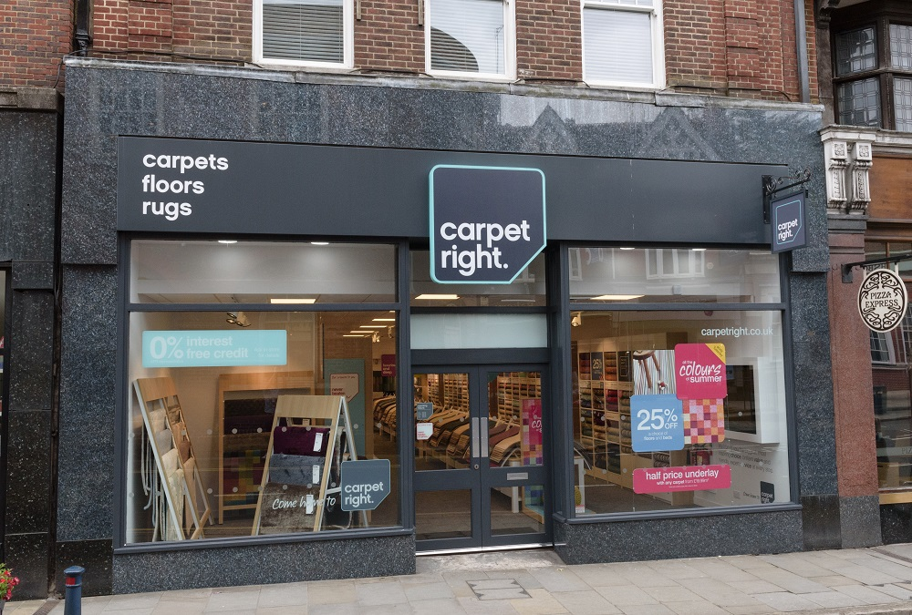Carpetrights Reigate Store Refurbished