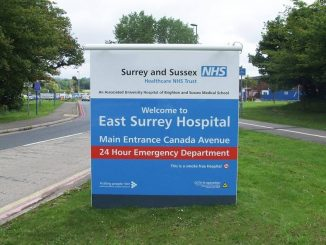 ESH entrance sign