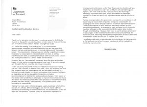 claire perry letter