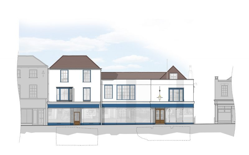 8-10 Bell Street proposed elevation