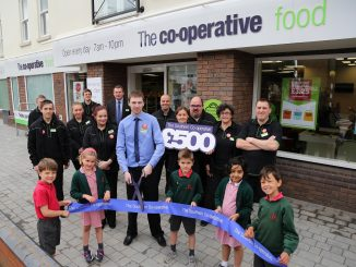 Reigate Co-operative Food Store opening. June 28, 2016. Picture by James Boardman / 07967642437