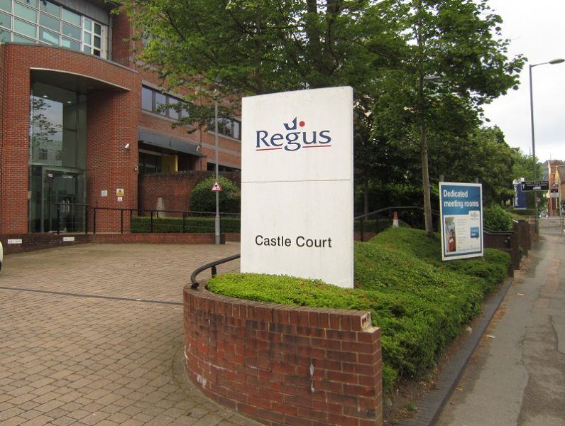 regus castle court london road reigate