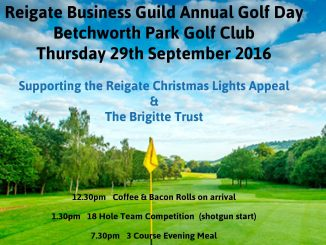 reigate business guild annual golf day 29 Sep 2016 - image 1