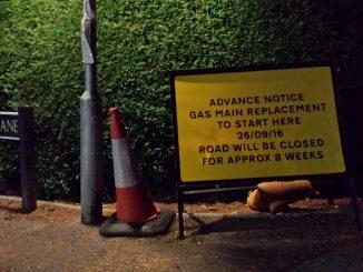 nutley-lane-closure-sign-25-sep-2016