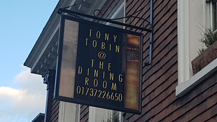 Reigate Restaurant Tony Tobin The Dining Room Closes