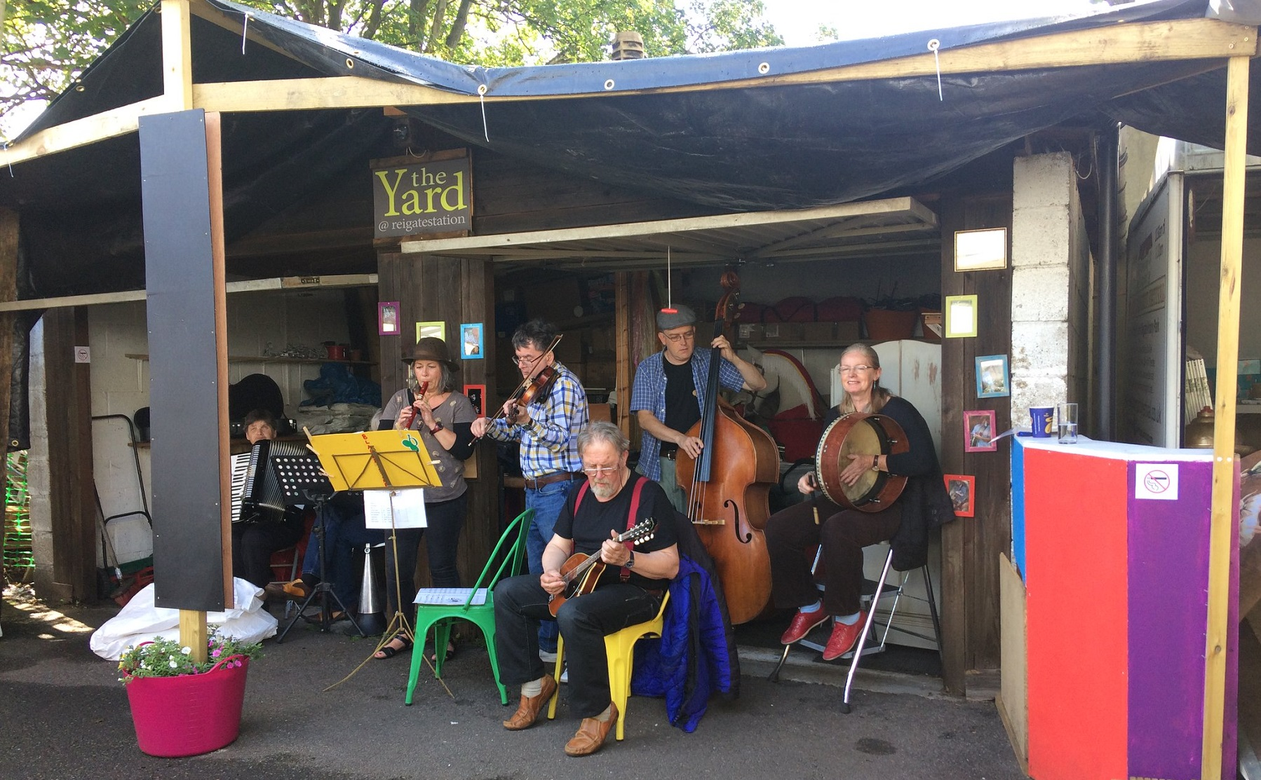 Music, art and more at The Yard in Reigate Art Fest