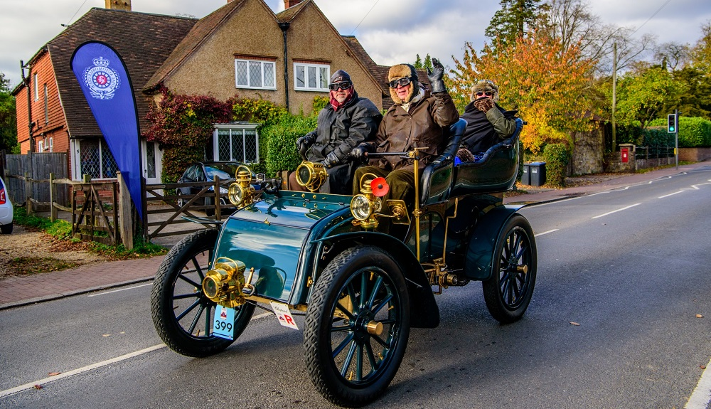 Veteran car run to route via Reigate for first time in over 60 years